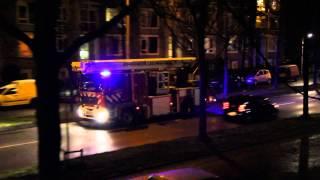 Brandweer Leeuwarden Prio 1 Schoorsteenbrand Britsum HW 02-6150