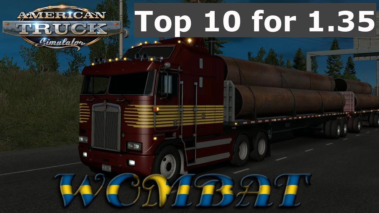 ATS 1 35 - Top 10 Truck mods that isnt a SCS truck