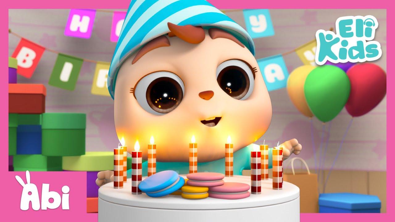 Happy Birthday Song +More | Eli Kids Songs & Nursery Rhymes Compilations