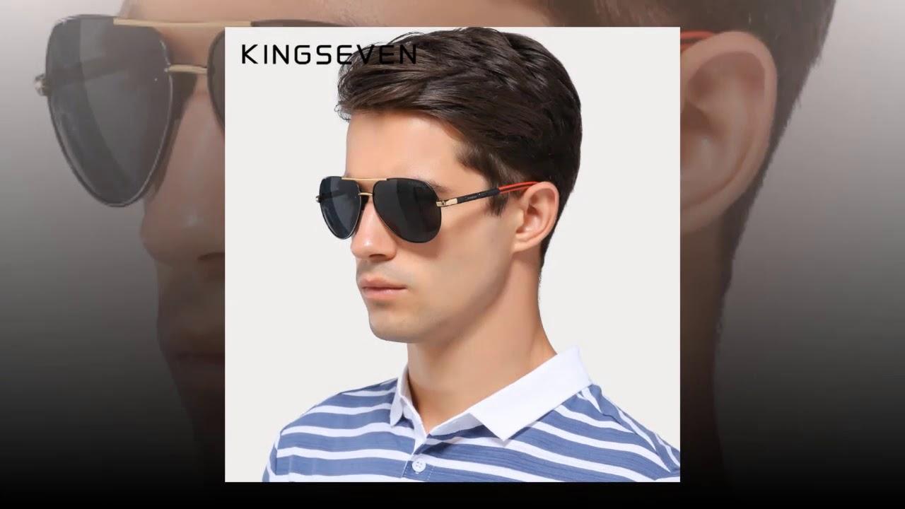 26761d489b Best KINGSEVEN Sunglasses Classic Men Vintage Aluminum HD Polarized Brand  Sun glasses
