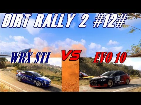 Dirt Rally 2.0 # Subaru WRX STI R4 vs Mitsubishi Lancer Evolution 10 R4