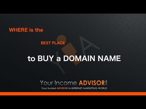 Where is the best place to buy a domain name
