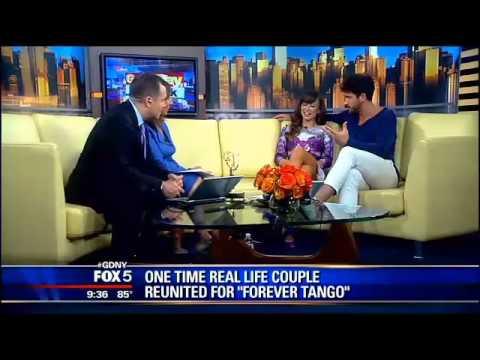Karina Smirnoff & Maks Chmerkovskiy Forever Tango interview GDNY