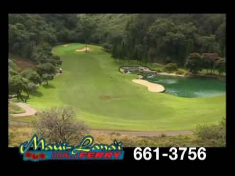 Golf Lanai Hawaii with Expeditions Maui Lana'i Ferry