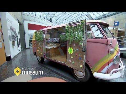 VW Hippie-Bus von innen und außen, Haus der Geschichte   Faszination Museum