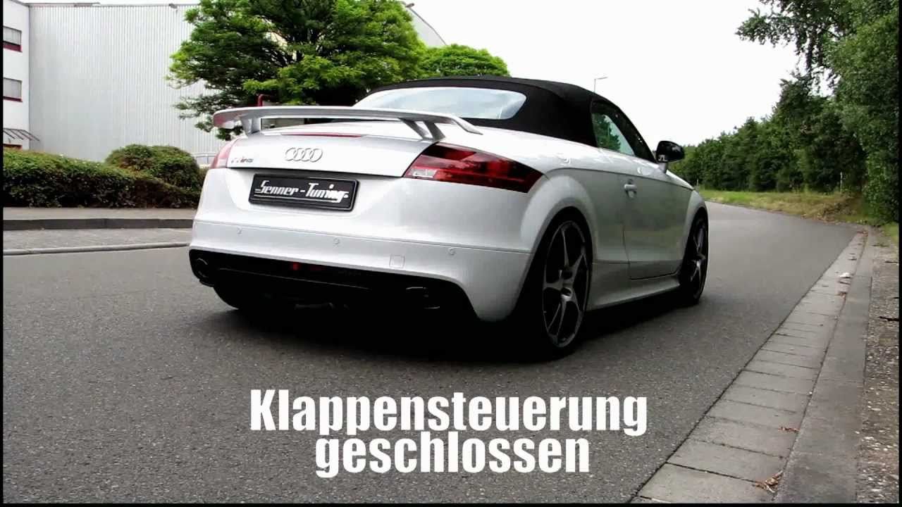 audi tt rs auspuff klappensteuerung von senner tuning ag. Black Bedroom Furniture Sets. Home Design Ideas