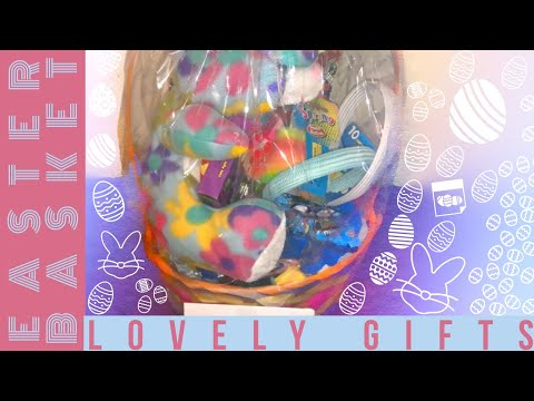 Unboxing A Awesome Girls Easter Basket From Lovely Gifts