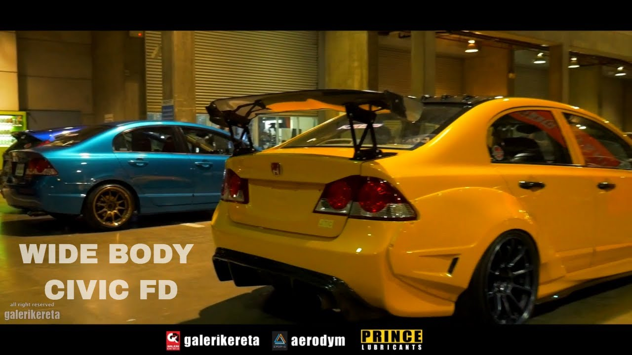 Civic FD Wide Body - YouTube