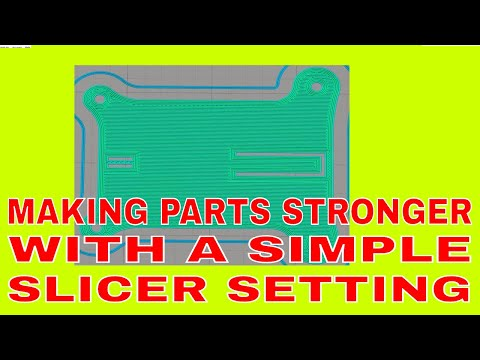 Making parts STRONGER with slicer settings – 3D-PrintCreator