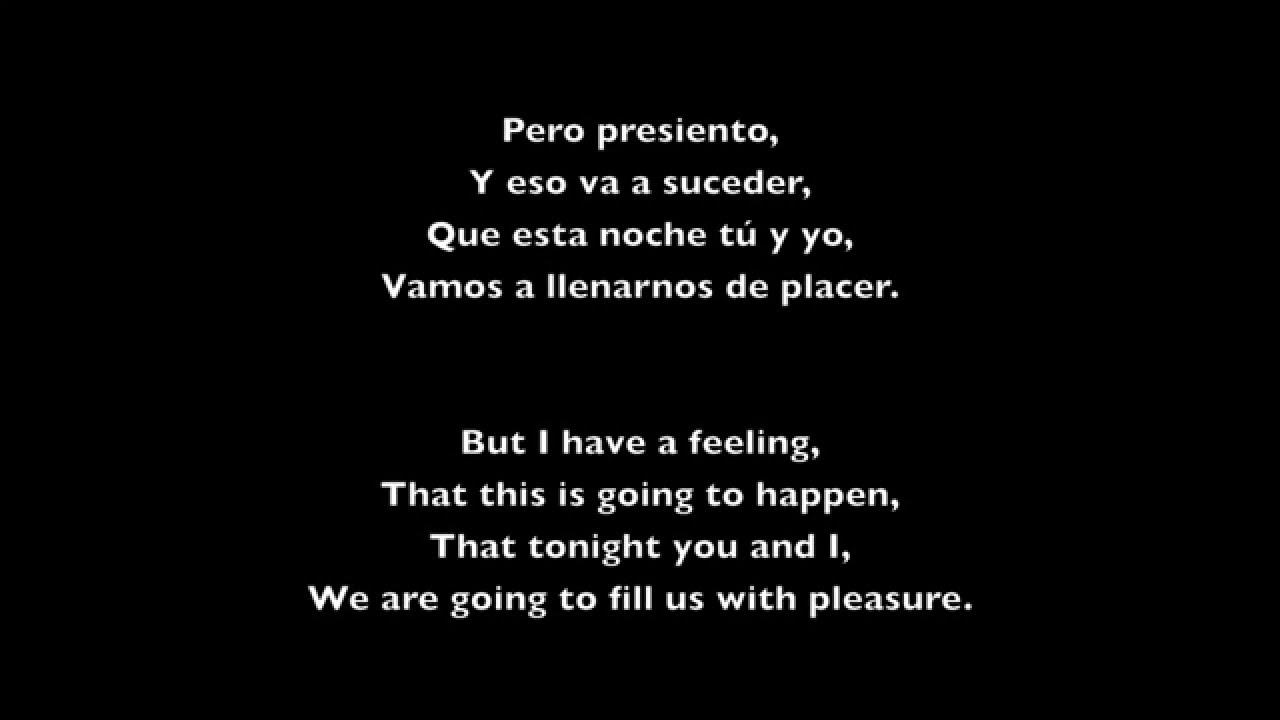 Spanish to english - Travesuras Nicky Jam Lyrics Spanish English Hd