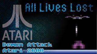 ALL LIVES LOST: Demon Attack (Atari 2600)