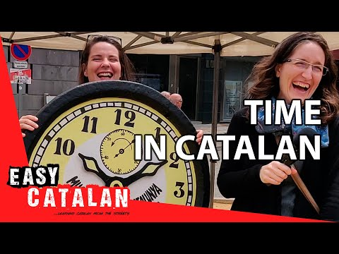 How To Tell Time In Catalan | Super Easy Catalan 5