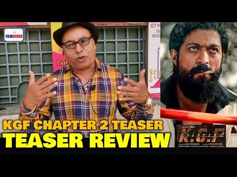Download KGF 2 Teaser | Vijay Ji EXPERT REVIEW | Rocking Star Yash | Prasanth Neel