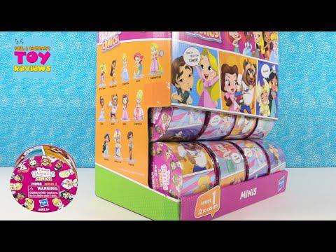 Disney Princess Comics Series 1 Figures Blind Bag Opening | PSToyReviews