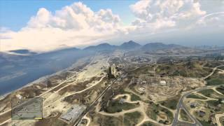 Stealing the Military Helicopter Grand Theft Auto V LG1T