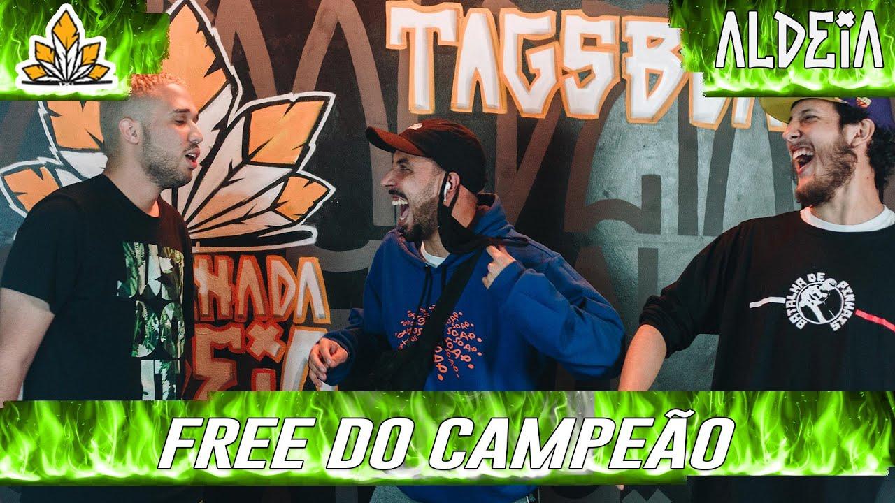 FREESTYLE DO CAMPEÃO | 204ª Batalha da Aldeia