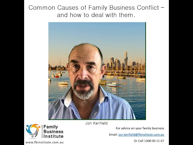 Blog #1 - Is a Family Business a Blessing, or a Curse?