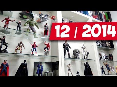 Minha coleção Hot Toys, Enterbay, DBZ Figuarts, Cloth Myth EX - 12/2014 / DiegoHDM