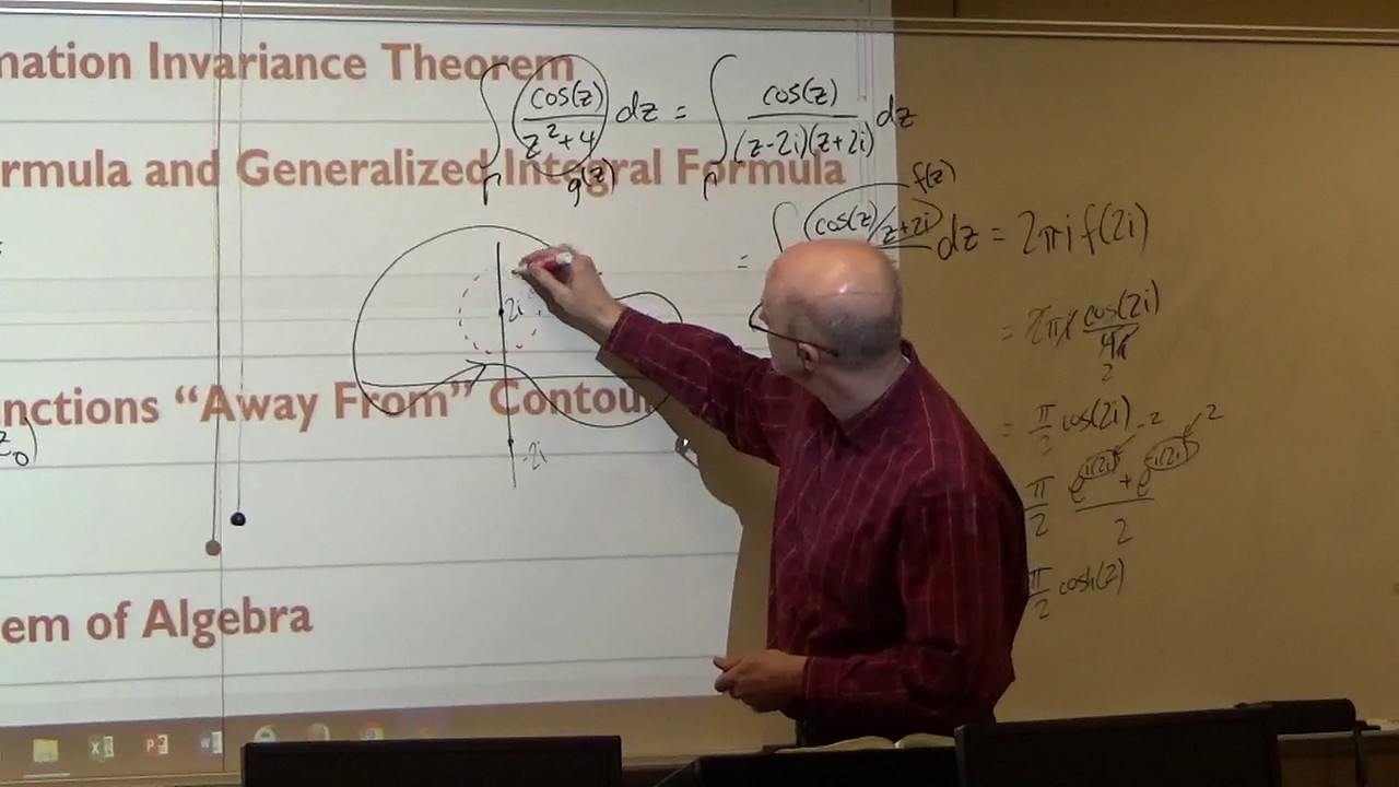 Lecture 25: Cauchy Integral Formula, Applications