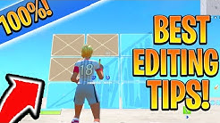 PRO EDITING TIPS You NEED! HOW To Edit FASTER in Fortnite PS4/Xbox! (Fortnite Console Editing Tips)