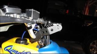 """Rigid Industries 10"""" LED Light Bar Installation 1990 LT250R"""