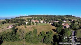 Ardèche - Montselgues, un village ardéchois (4K)