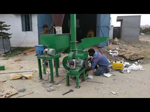 Cattle feed unit mini plant