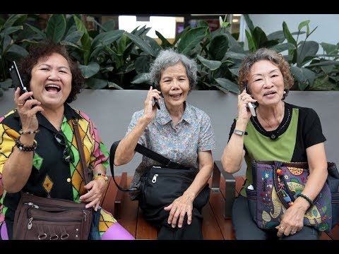 Big Read: Singapore's Elderly Face The Technology Revolution