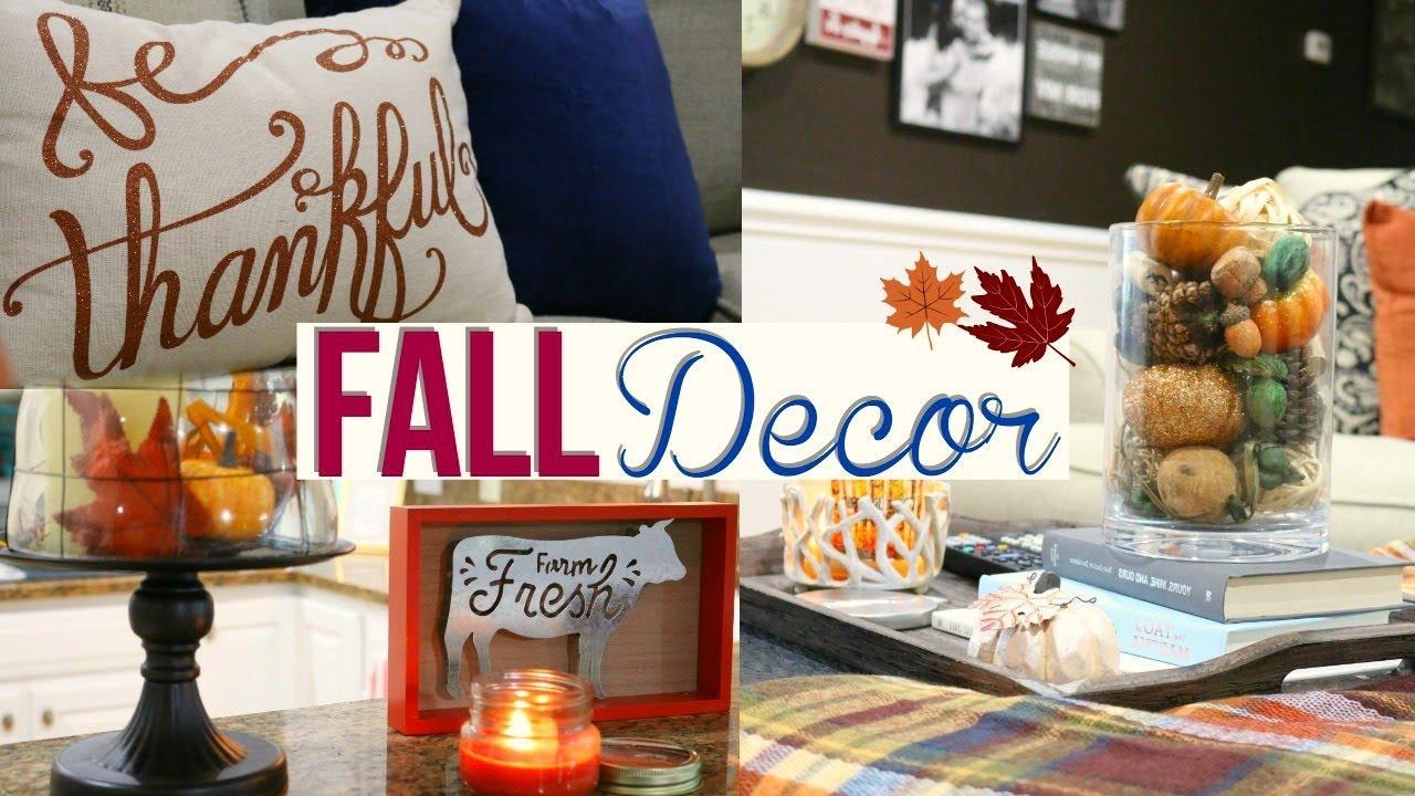 Fall Home Decor Tour 2017 Rustic Fall Home Decor Page