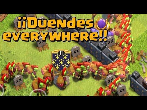 ¡¡TODO DUENDES!! | Todos a una | Clash of Clans con TheAlvaro845 | Español