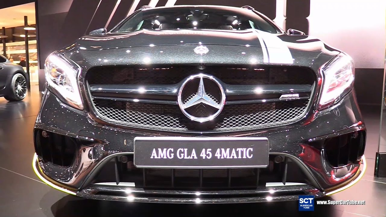 2017 Amg Gla 45 Mercedes Benz >> 2018 Mercedes Amg Gla 45 4matic Exterior And Interior Walkaround Debut 2017 Detroit Auto Show