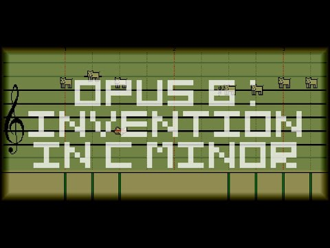 Billy Joel: Invention In C Minor (Opus 6) - Mario Paint Composer