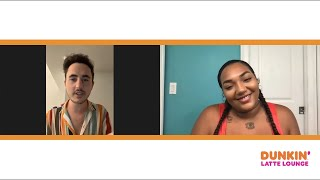 Jada Michael Describes Living In Miami + Performs At Dunkin Latte Lounge!