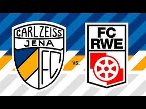 Thüringenpokal Finale 15/16 FC Carl Zeiss Jena - Rot Weiss Erfurt komplettes Spiel