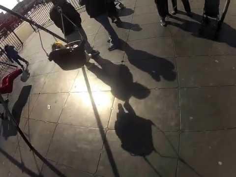 First Swings - Baby X Wears GoPro