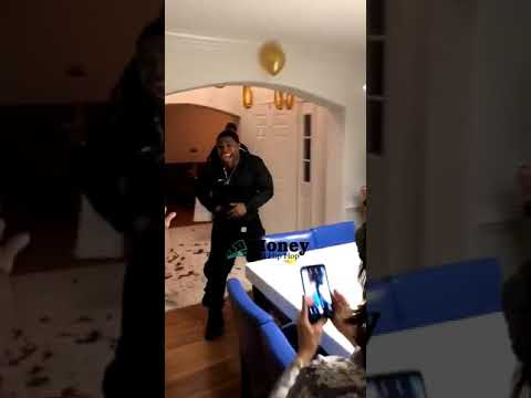 A.D. - Guy Reacts to His Own Surprise Party by Pulling His Gun