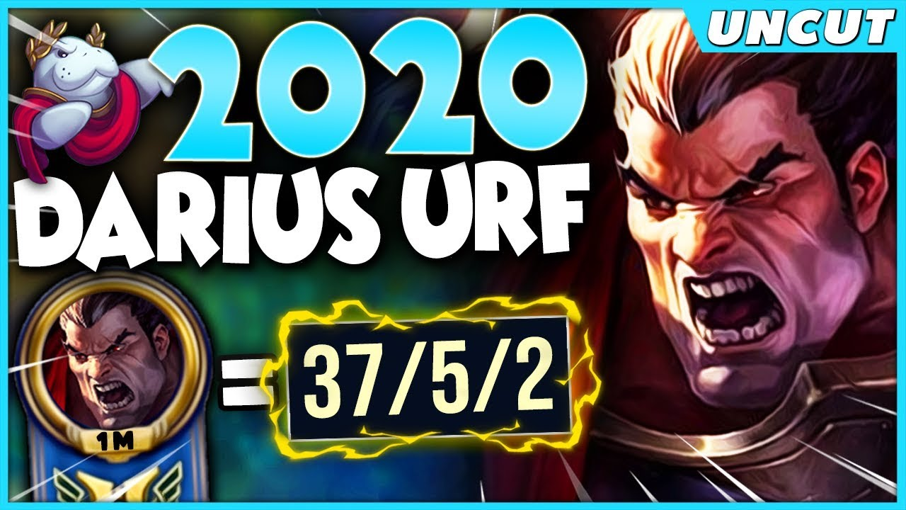 Urf 2020 Christmas 39 KILL MASSACRE* WHEN A DIAMOND DARIUS PLAYS URF IN 2020   League