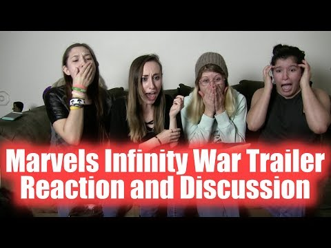 Avengers Infinity War Trailer Reaction and Discussion