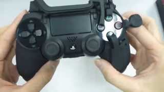 HOW TO USE THE AVENGER CONTROLLER REFLEX FOR PS4 DUALSHOCK 4