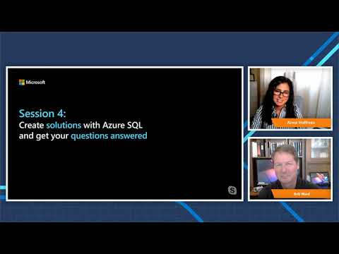 Create Solutions with Azure SQL and Get Your Questions Answered