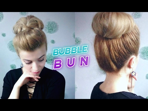 super easy hairstyle quick bubble