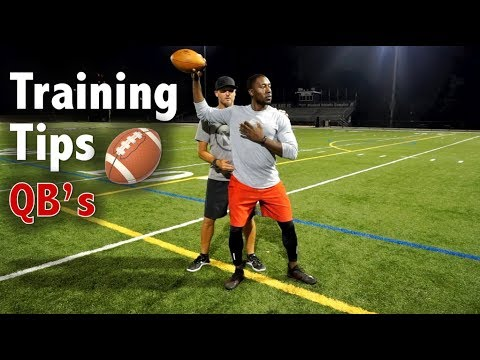 5 Tips to be a Better Quarterback - Football Tip Fridays