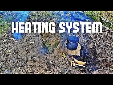 Winter Survival ground heating system