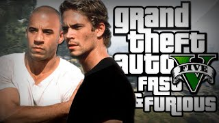 GTA 5 PC | Fast and Furious 7 - A Tribute to Paul Walker (Clip Version GTA 5)