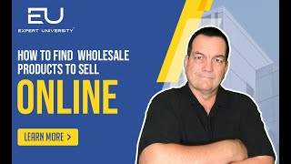 How to Find Wholesale Products to Sell Online by Todd Snively