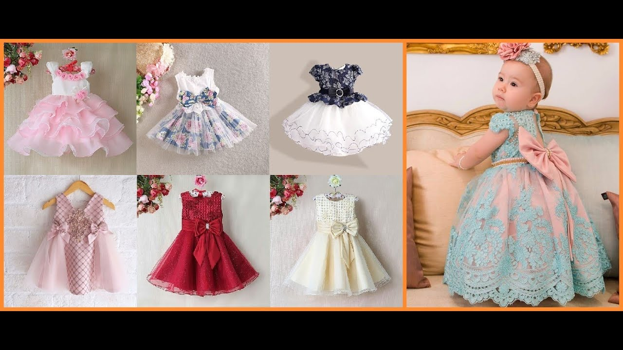 0d7b25d51ce59 Party Wear Frocks Design For Baby Girl=Kids Party Dresses Cloth ideas  2019-20