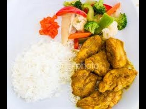 How To Cook Real Jamaican Curry Chicken And White Rice Youtube