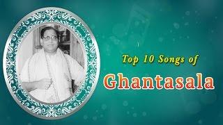 Top 10 Songs of Ghantasala   Tamil Movie Audio Jukebox
