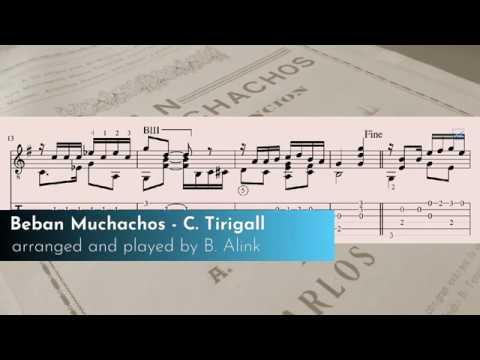 Tirigall, Carlos - Beban Muchachos - Video - Classical Guitar