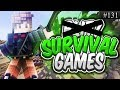 Minecraft: Hunger Games #131 BackPlay SG! (w/ Cube)